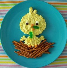 Hungry Happenings: Guest Blogger Jill shows us how to make an Egg Salad Chick Sandwich