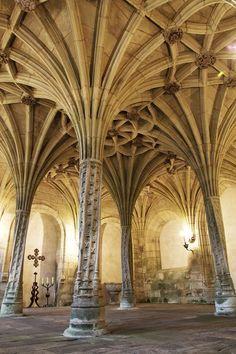 "dopediamond: ""Dope…Monastery of Santa Maria la Real de Oseira - Spain "" Religious Architecture, Medieval Castle, Santa Maria, Family Travel, Stained Glass, Places To Visit, Journey, Maker Faire, World"