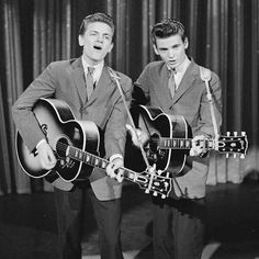 I Wish I Could Of Lived Through The 50s To See The Everly Brothers!