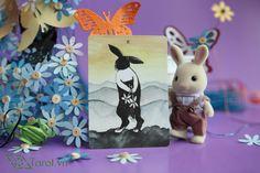 Two of Pentacles - The Rabbit Tarot