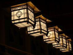 Lanterns at Fushimi Inari Shrine