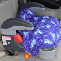 Tinkerbell print is perfect way to encourage your little one to stay seated in her booster seat. This one is made for the Graco Turbo booster seat