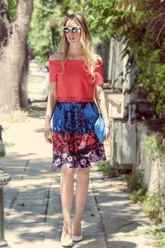 streetstyle #muserebelle #colours #white #pumps #fashionblogger