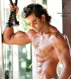 Hot Pics of Hrithik Roshan: Hrithik Roshan Is The Hottest Bollywood Actor. 10 Hot Pics of Hrithik Roshan That Will Get The Temperature Soaring. Bollywood Actors, Bollywood Celebrities, Bollywood Style, Calendar Pictures, Sr K, Thats The Way, Hottest Pic, Indian Celebrities, Hrithik Roshan