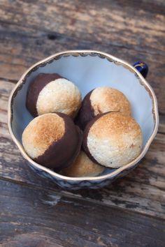 Rocher coco et chocolat très peu sucré et ultra facile (sans gluten et sans oeuf)