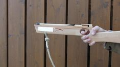 I built a homemade kids crossbow for my son. This DIY kids crossbow works really well and is safe to use if you ke. Crossbow, Diy For Kids, Door Handles, Homemade, Children, Boys, How To Make, Home Decor, Door Knobs