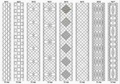 Lace Bobbin: Skolkov for dimensional lace
