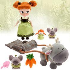 Disney Animators' Collection Anna Mini Doll Play Set - 5'' | Disney Store
