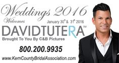 You wont want to miss out as The Bridal Association of America welcomes David Tutera to our Bridal Event on January 30 & 31 2016.  For more Information on Tickets visit our website KernCountyBridalAssociation.com or by calling the Bridal Association at 800.200.9935.  #bridalassociationofamerica #weddingevent #davidtutera