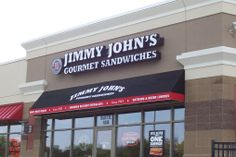 The BEST subs! The Beach is my fav Jimmy Johns, Gourmet Sandwiches, Best Sandwich, Best Places To Eat, Catering, Restaurants, Bread, Spaces, Drink