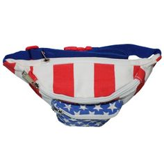 The 'Merica Fanny Pack   American Flag Fanny Pack    Red White and Blue Fanny Pack
