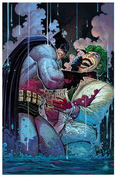 Batman vs Joker by John Romita Jr and Dean White