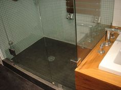 Shower Stall Cement Floor