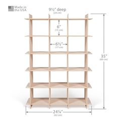 Modern Wood Shoe Storage Cubby | Sprout