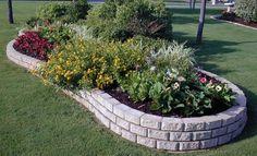 Concrete Garden Edging Ideas Nz