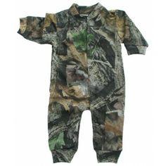 Baby Boys Camouflage Creeper - Baby Boy Camo Clothing (Newborn - 24 Months) - Boy's Camouflage Clothing - Baby & Kids
