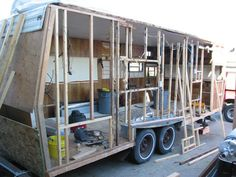 Rebuild Travel Trailer Trailer Travel Trailer Living
