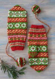 Ravelry: Ájtte Treasure Mittens pattern by Laura Ricketts