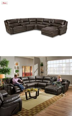 Pleasant 14 Best Man Cave Images Furniture Leather Sectional Pabps2019 Chair Design Images Pabps2019Com