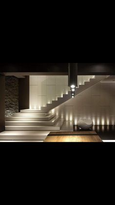 Ideas Bedroom Design Modern Stairs For 2019 Home Stairs Design, Interior Staircase, Staircase Railings, Staircases, House Front Design, Modern House Design, Modern Stairs Design, Stairway Lighting, Escalier Design