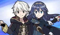 Robin and Lucina - the pokemon trainers