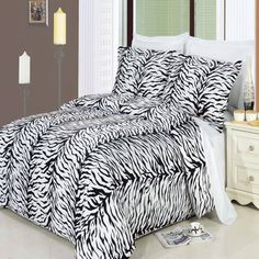 Zebra 3piece Full  Queen Duvet Cover Set 100  Egyptian Cotton 300 Thread Count by Royal Hotel Bedding -- Want to know more, click on the image.