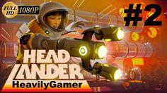 Headlander Gameplay Walkthrough (PC) Part 2: Realigning The Satellites/F...