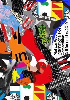 mut zur wut by studio mut - typo/graphic posters Plakat Design, Communication Design, Typo, Illustration Art, Illustrations, Branding, Culture, Studio, My Love