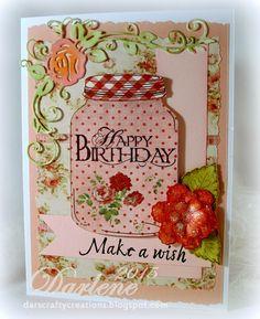 Dar's Crafty Creations: Birthday wishes ...