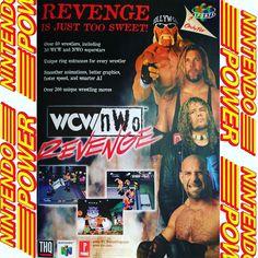 Old Nintendo Power Ads - Vol 115. December 1998. Who was you character? . . #Wrestling #nwo #wwf #wcw #hulkhogan #kevinnash #goldberg #oldnintendopowerads #nintendo #nintendopower #gamemagazine #gameads #N64 #Nintendo #Nintendo64 #retrocollection #retrocollector #gamecollection #gamecollector #videogames #games #gamer #gaming #instagaming #instagamer #retrogaming #retrogames #retro #retrogamer #gamersunite