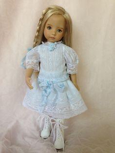 Heirloom Dress:  Blue Batiste