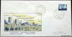 Special cover postage stamp