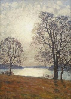 Artwork by Per Ekström, Soldis, Made of Oil on canvas