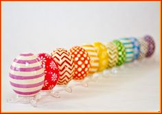 Pysanky don't have to be done in traditional Ukrainian designs! Orange Tree Imports has a full line of Ukrainian egg decorating supplies, including many bright colors. Egg Crafts, Easter Crafts, Easter Decor, Easter Ideas, Egg Tree, Easter Egg Designs, Ukrainian Easter Eggs, Egg Decorating, Decorating Supplies
