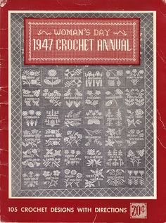 In the public domain. Woman's Day 1947 Crochet Annual - Bev Pisko - Picasa Web Albums @Af's 14/4/13