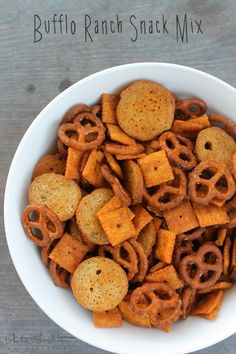 Buffalo Ranch Snack Mix | White Lights on Wednesday
