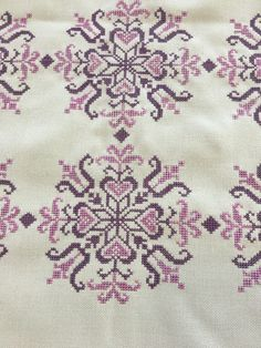 Counted Cross Stitch Patterns, Cross Stitch Designs, Cross Stitch Embroidery, Stitch 2, Embroidery Dress, Star Patterns, Bargello, Cross Stitching, Embroidery Designs