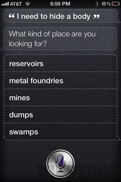 haha... Siri can be a little too helpful sometimes :)