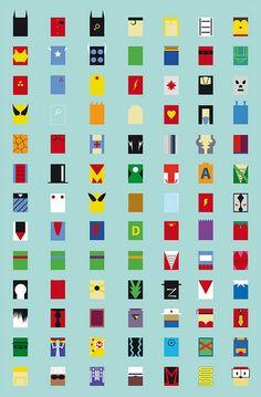 Who are these superheroes ? Key: Batman, Robin, Batgirl, Superman, Supergirl, Barbarella, Mighty Mouse Ironman, Captain America, Thor, The Hulk, Cyclops, The Incredibles, Kick Ass, Radioactive man, Fall out boy (milkhouse version), Wonder Woman, The Flash, Captain Atom, Aeon Flux, El santo, Wolverine, Invisible Woman, Human T...