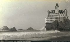 Cliff House San Francisco Photos | Cliff House and Seal Rocks, San Francisco, California, ca. 1888.