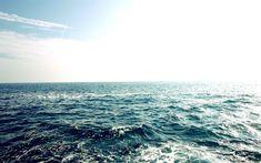 Download wallpapers sea landscape, waves, blue sky, water, ocean