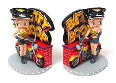 Art Deco Betty Boop Bookends!
