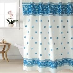 Fabric Polyester WIDEN Waterproof Shower Curtains Bathroom Shower Curtains 240cm Width #Affiliate