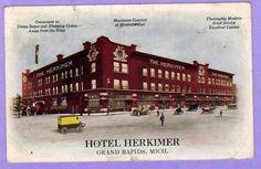 Postcard for Hotel Herkimer - 1912