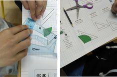 Leçon à mémoire visuelle sur les angles – Tablettes & Pirouettes Angles, Pixel, Math, Marker, Learning, Math Resources, Mathematics