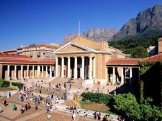 Would love to go to grad school here! University of Cape Town, South Africa.