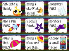 SPACE Themed Behavior Reward Coupons FREEBIE - Whether you're doing a space theme or not in your classroom, these free behavior coupons will be sure to motivate your students!