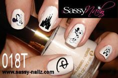 Disney+Nail+Art+Childrens+Nail+Art+Cartoon+by+SassyNailzIreland,+$5.00