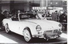 The very first Triumph Spitfire which wowed the world at the 1962 British Motor Show.