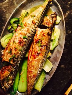 Last nights dinner - mackerel Thai style